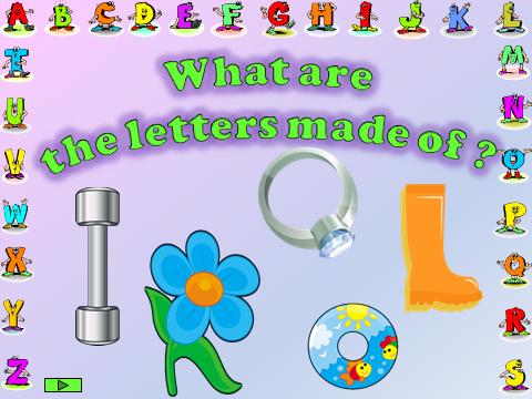 Alphabet game.