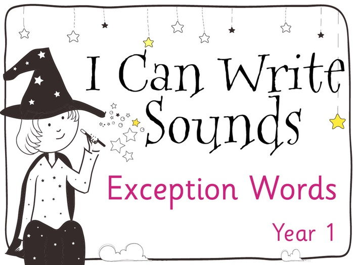 Magic Sounds Phonics Set 19 Year 1 Exception Words