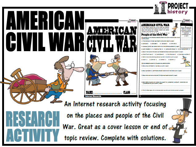 American Civil War Internet Research Activity