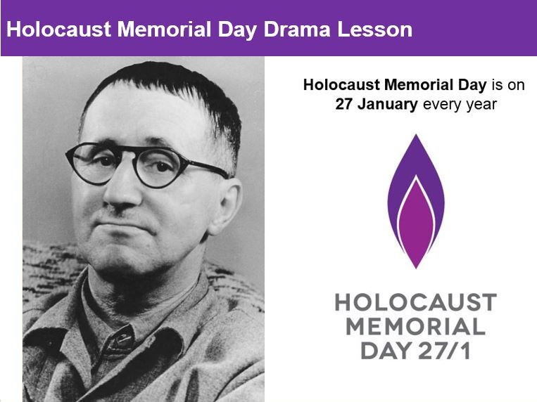 Holocaust Memorial Day Drama Lesson KS3 & 4