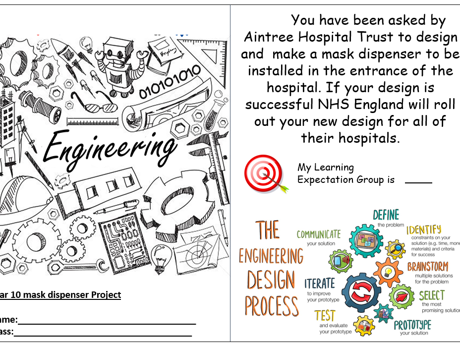 Engineering Project Book for BTEC Tech Award Level 1/2