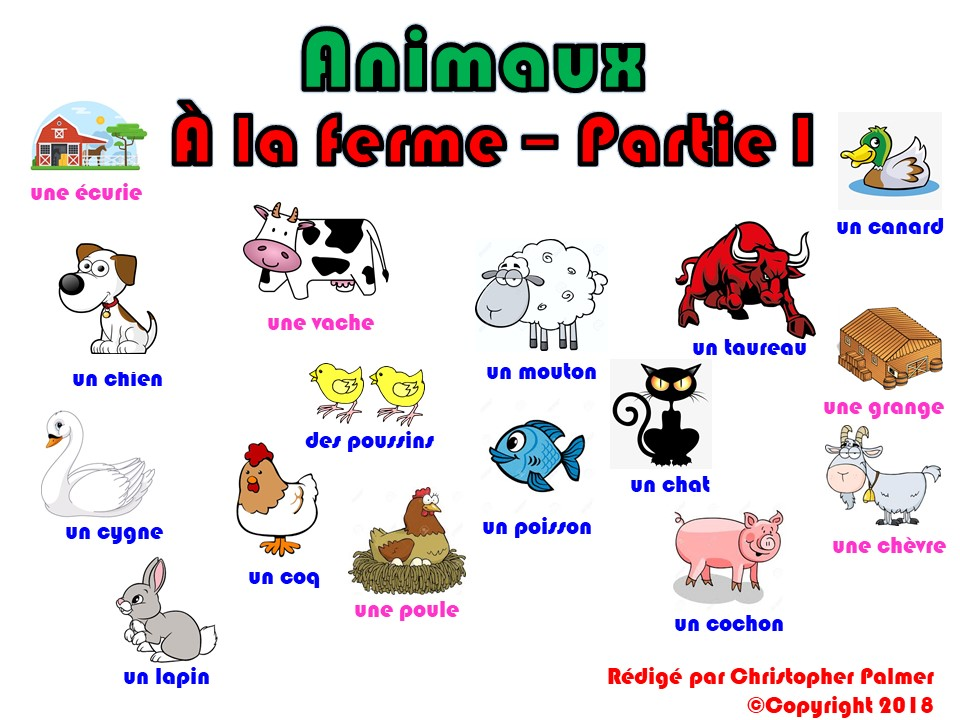 Primary French: Animals - Part I: At the farm (Key Stage 1 and Key Stage 2)