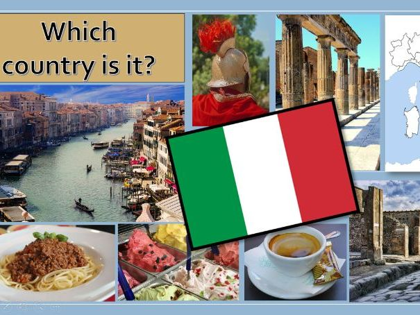 Geography Italy today:  Series of 6 KS2 power-point lessons and activities.