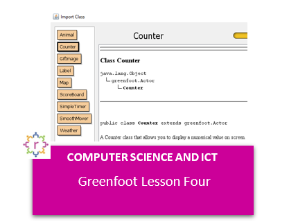 Greenfoot Lesson Four - Adding a Counter