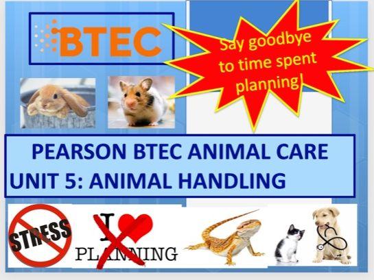 Animal Care Btec Unit 2
