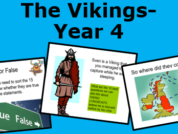 An introduction to the Vikings- Year 4