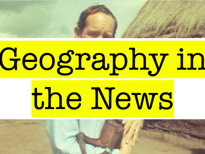 Geography in the News - Solar Planes and Bullet Trains