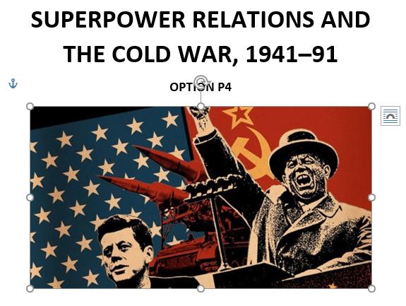 Edexcel Cold War Revision Guide, GCSE 9-1