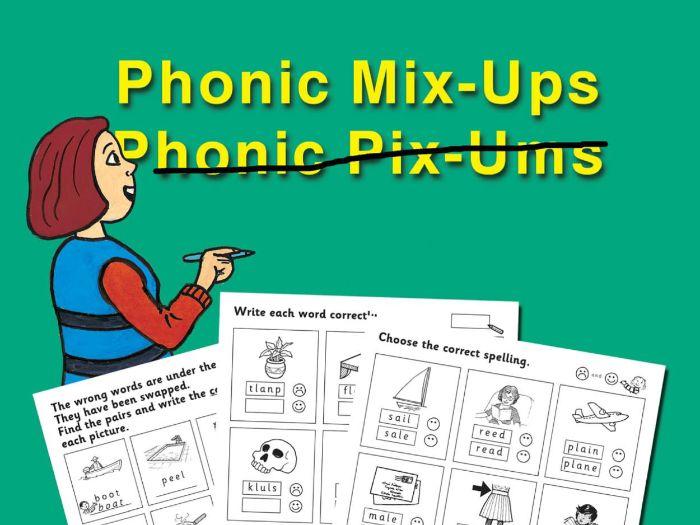 PHONIC MIX-UPS