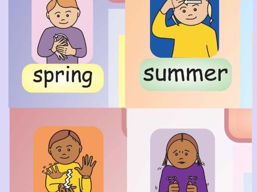 The 4 Seasons - BSL Signs and Rhyme