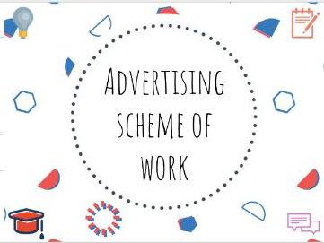 Media/Advertising scheme of work #media #advertising #schemeofwork #SOW