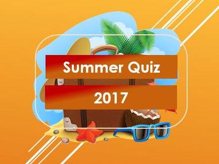 Summer Quiz 2017
