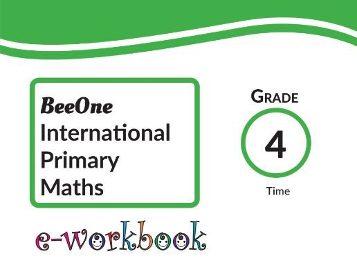 Grade 4 Time, 21 worksheets from BeeOne Books