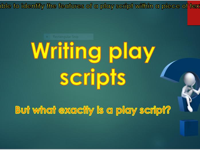 Play-scripts