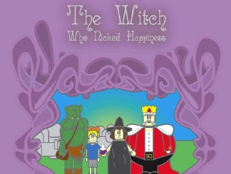 Sample Pages For The Witch Who Nicked Happiness Play Script