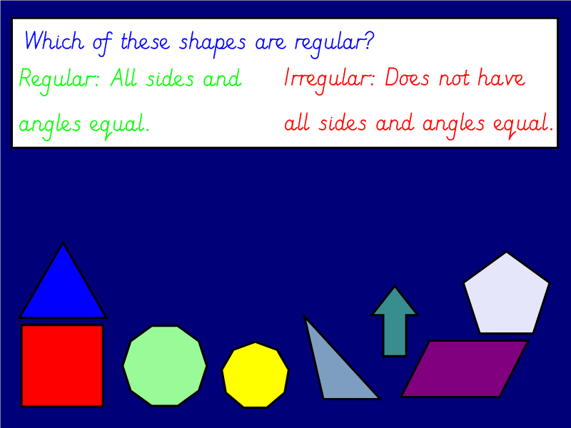 2D Shape and Angles Bundle (Year 3 / 4)