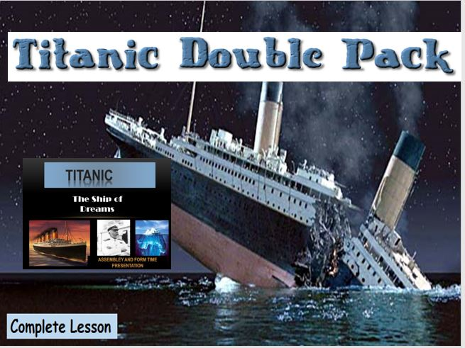 Titanic Descriptive Writing – Complete Lesson with General Starters and Presentation