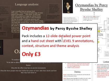 Ozymandias Poem Lesson with Lvl9 annotations
