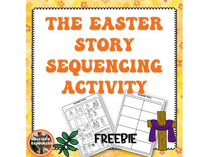 Easter Story Sequencing Activity