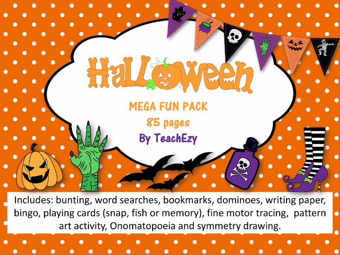 Halloween Mega Fun Pack for Kids