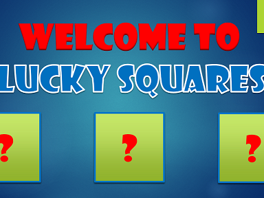 Lucky Squares PowerPoint Quiz Template