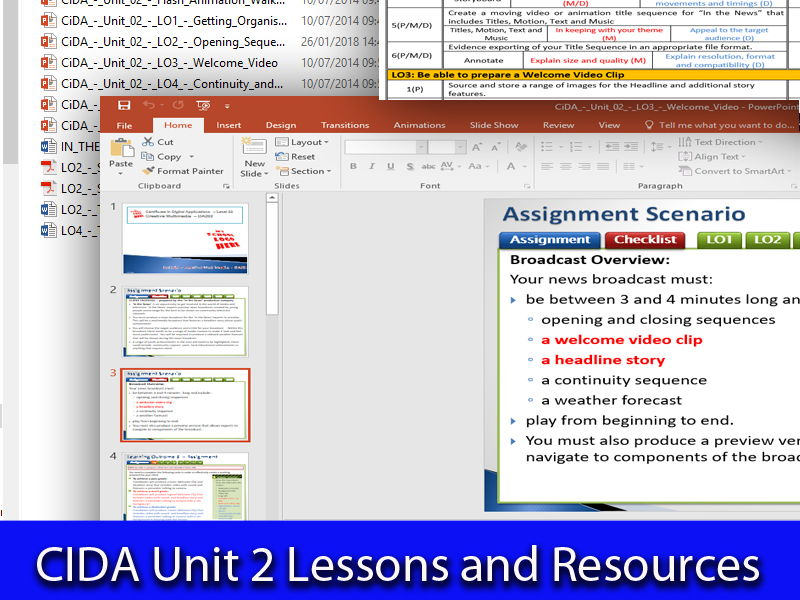 CIDA Unit 2 - Lessons and Resources - Easy to Adapt, Effective & Fun