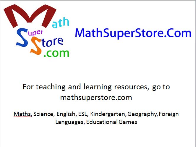 Free software from mathsuperstore.com
