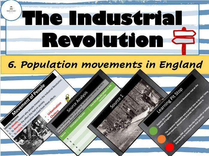 Industrial Revolution - 6. Population movements in England