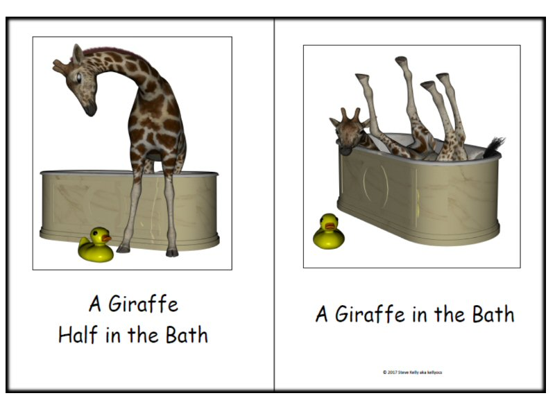 Giraffe - A Guided Reader for Kindergarten to Year 1