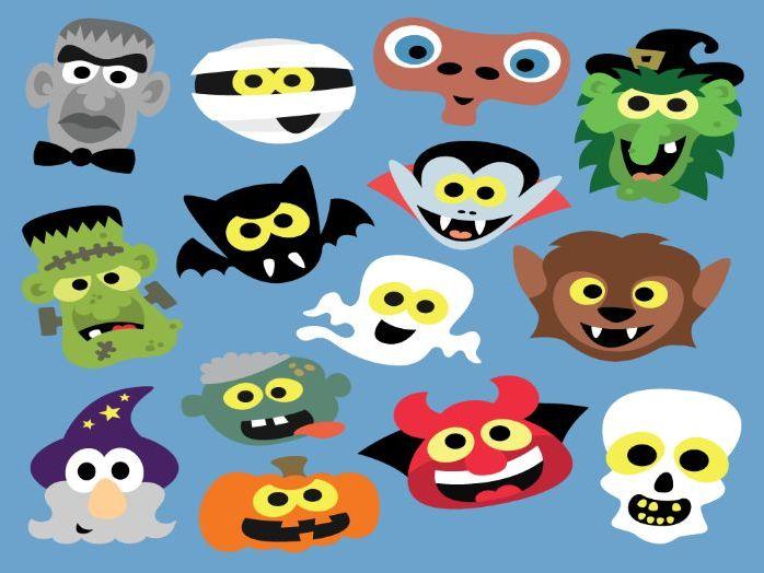 Printable Halloween Masks!