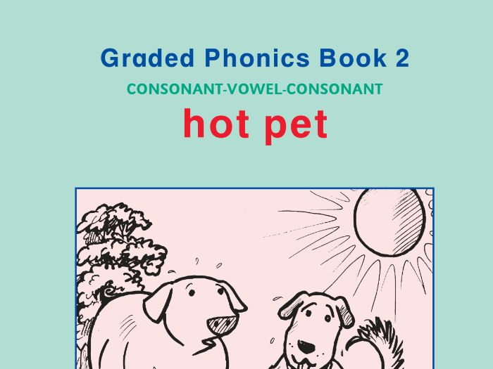 PHONICS BOOK 2 HOT PET