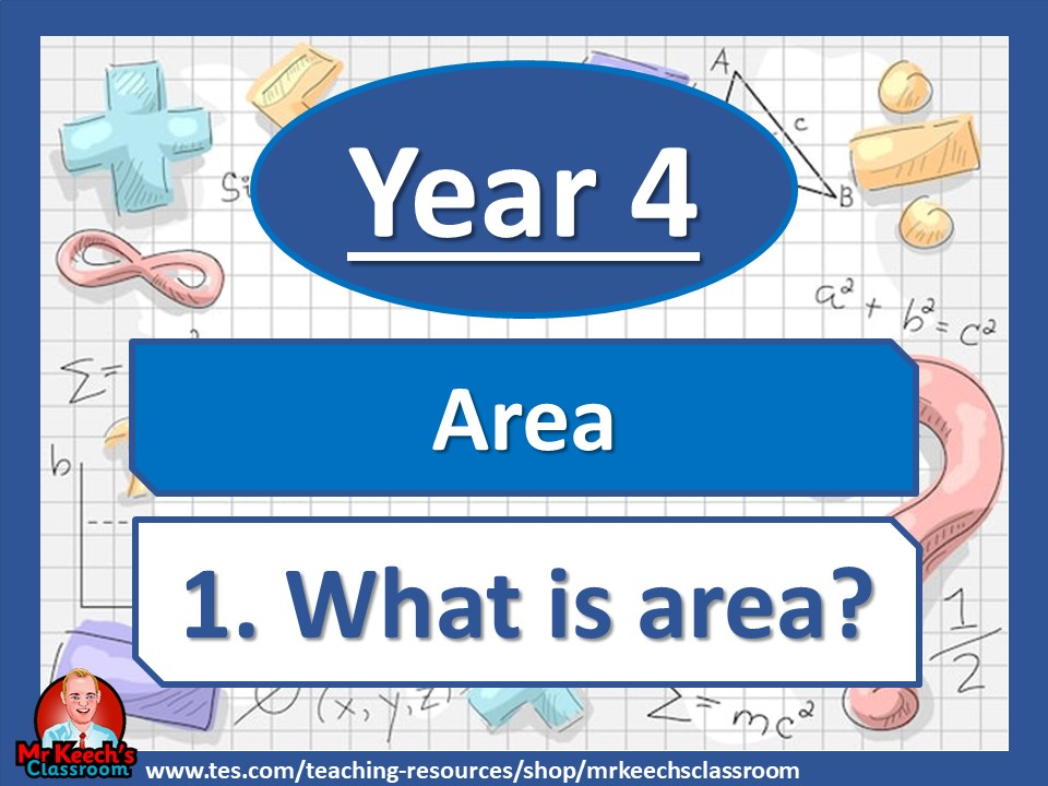 Year 4 – Area – What is area? - White Rose Maths