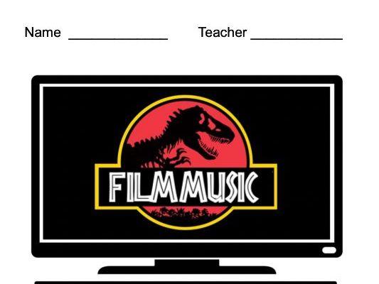 Film Music Unit: Student Workbook & Teacher Slides