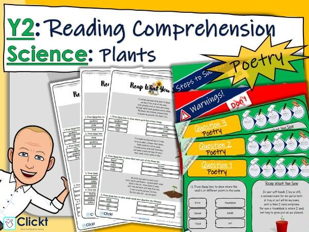 Year 2 Reading Comprehension (POETRY): Science: Plants