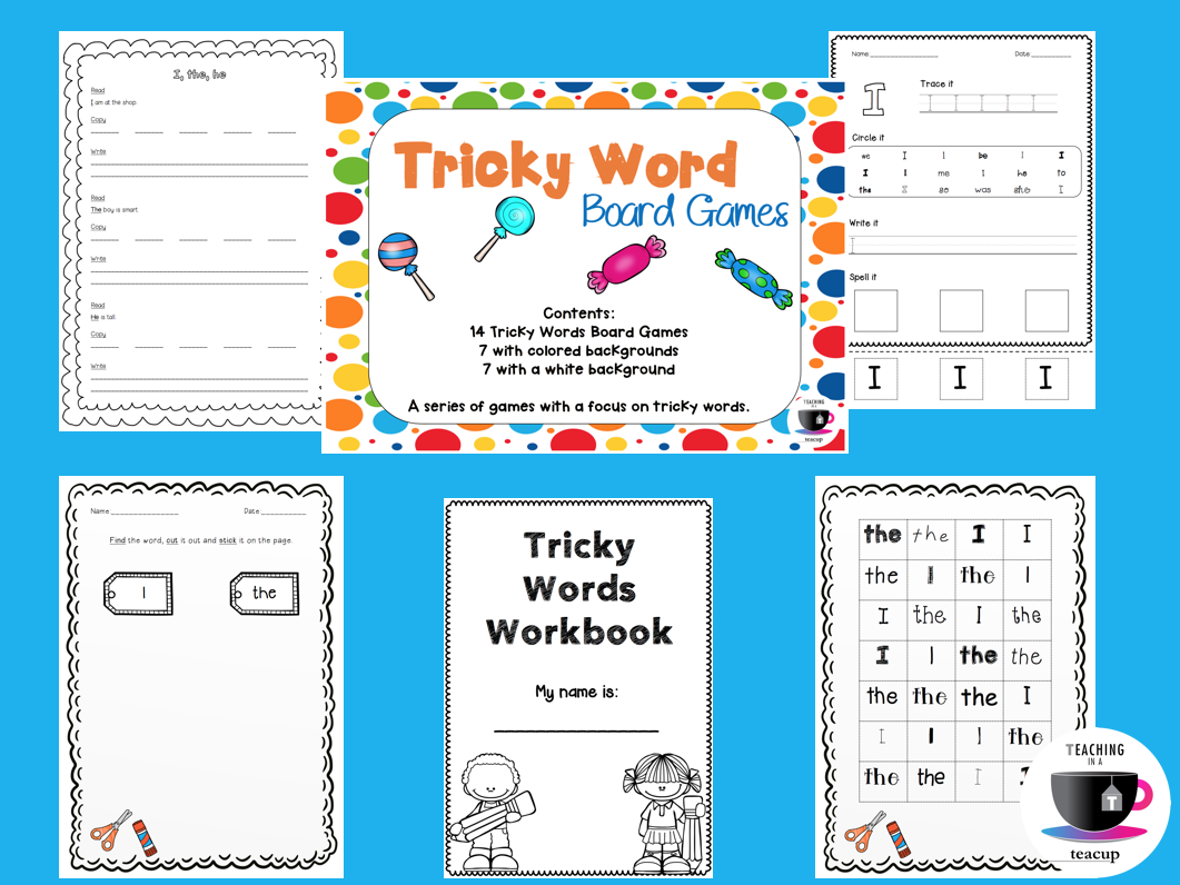 Jolly Phonics Tricky word bingo by kitten792 - Teaching Resources - Tes