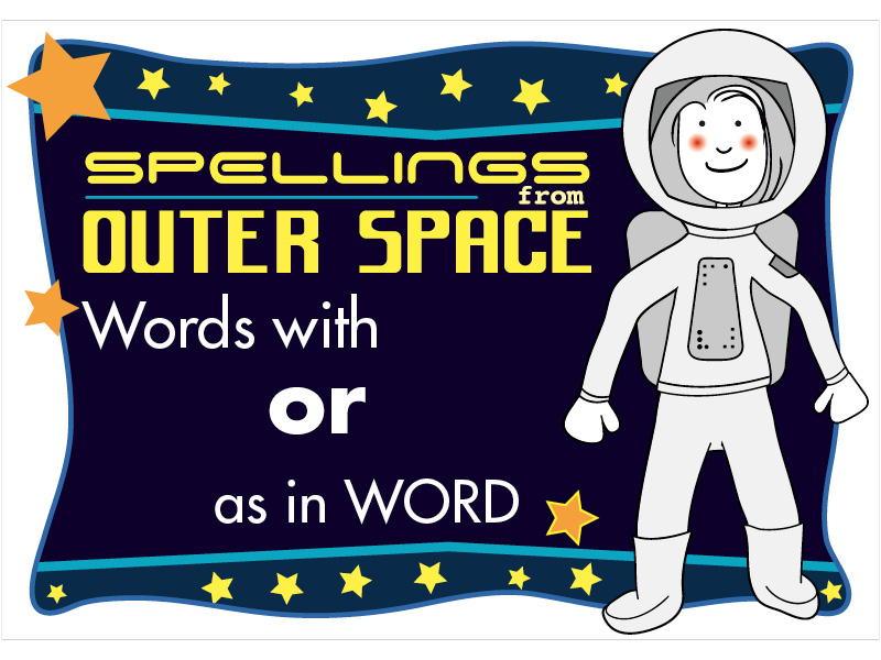 Year 2 Spellings Words with OR as in WORD