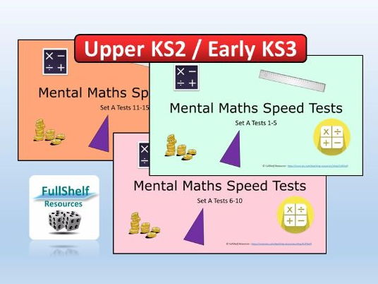 Year 5 & 6 Mental Maths PowerPoint Tests