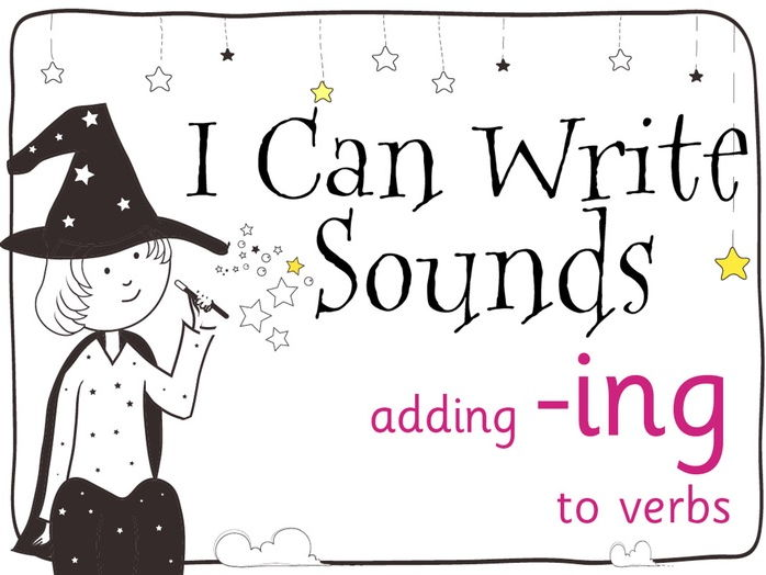Magic Sounds Phonics Set 31 adding -ing to verbs