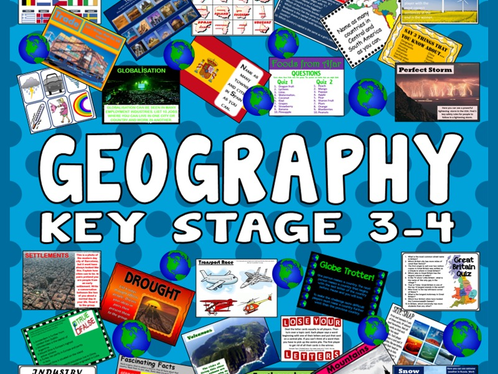 Key stage 3 Geography Rocks and Weathering Assessment Booklet