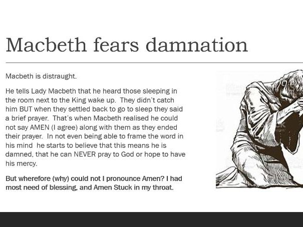 Macbeth Act 2 scene 2 - After the Murder