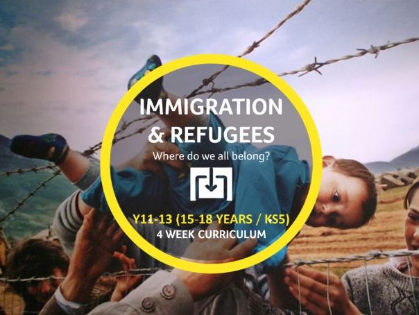 Immigration & Refugees curriculum - KS5
