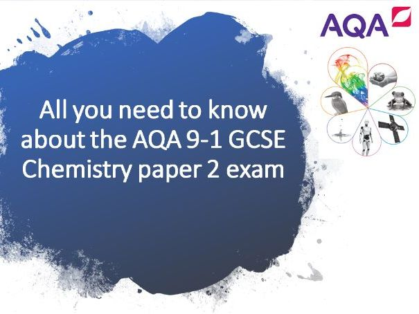 C2 Revision power-point - All you need to know for the AQA Chemistry paper 2 exam - RP's included
