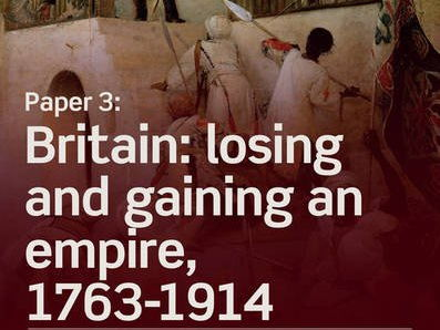 The British in India 1829-58 resources: Edexcel A Level History - losing and gaining an Empire