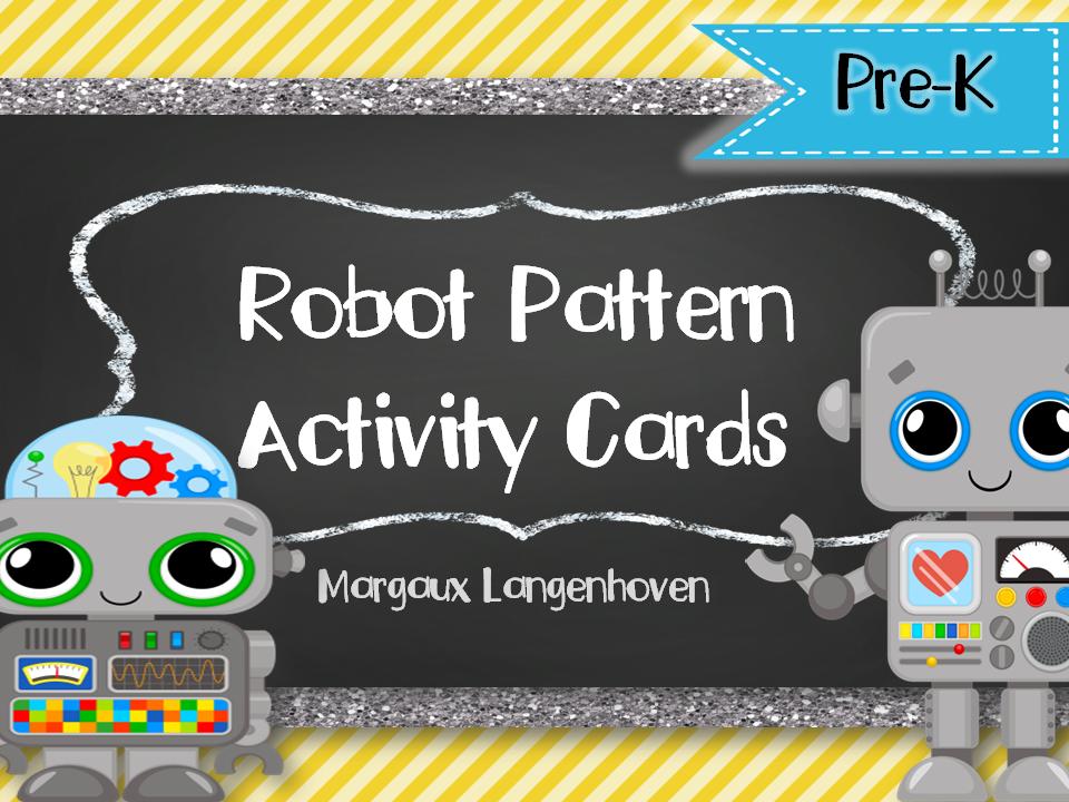Patterns: Robot Theme