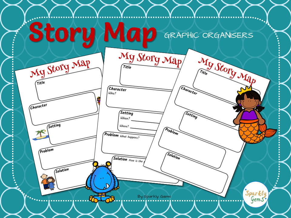 Story Map - Graphic Organiser