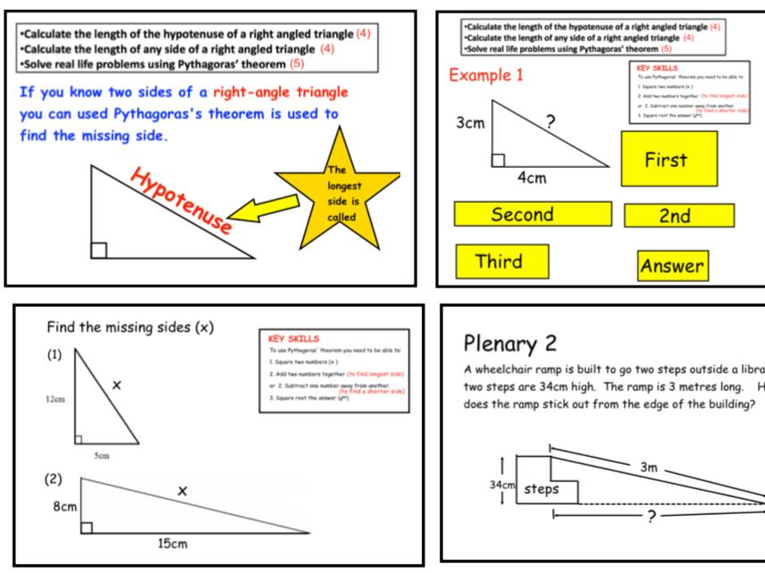 Pythagoras' Theorem