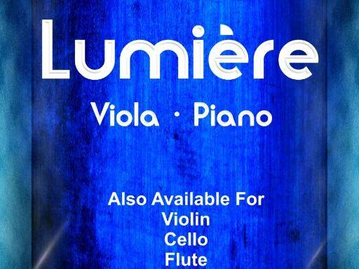 Lumiere - Viola & Piano (Score & Parts)
