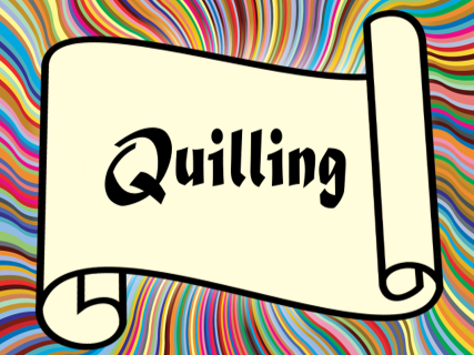Quilling Presentation – art, paper craft, project, activity, lesson