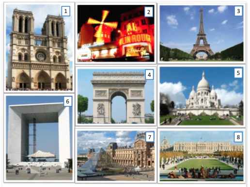 Paris monuments match-up starter
