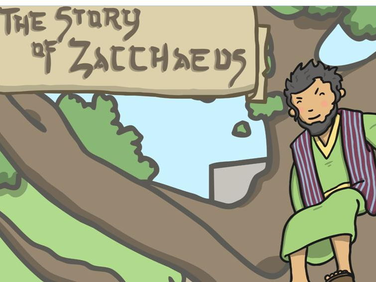 Zacchaeus the Tax Collector story and sequencing activity- KS1- Christian R.E unit on New Life